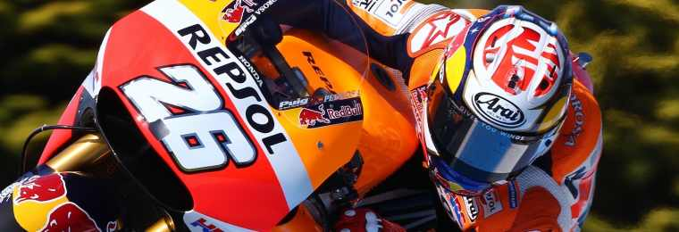 PHILLIP ISLAND,AUSTRALIA,18.FEB.16 - MOTORSPORTS, MOTORBIKE - MotoGP, Pre-season tests. Image shows Dani Pedrosa (ESP/ Honda). Photo: GEPA pictures/ Gold and Goose/ David Goldman - For editorial use only. Image is free of charge.