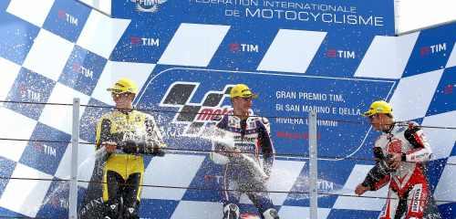 moto2 podium misano