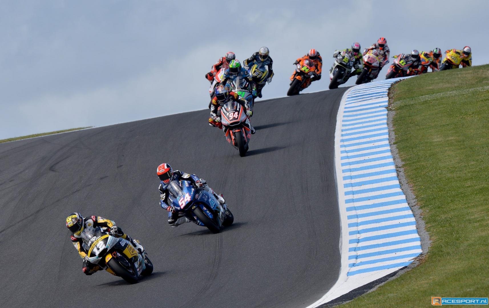 Moto2 race Phillip Island