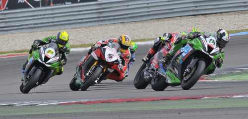 British Superbike race 1 Assen