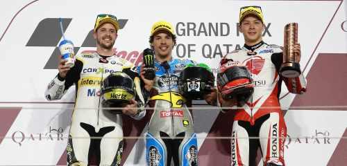 podium Qatar