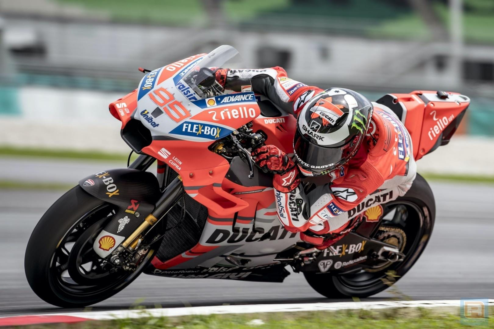 Jorge Lorenzo zet de toon tijdens Official MotoGP Test in Sepang