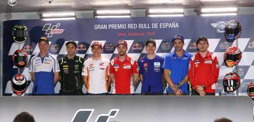Pré-event persconferentie Jerez