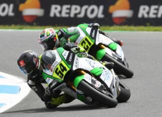 coureurs Fermin Aldeguer en Alonso Lopez